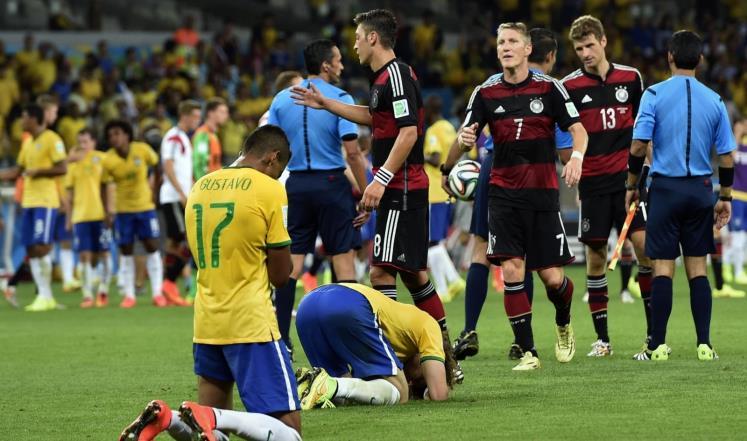البرازيل ترغب الثأر من سباعية ألمانيا