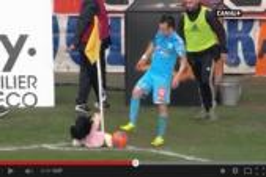 دمية تعطل مباراة في الدوري الفرنسي