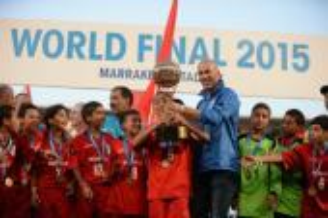 تكريم براعم المغرب المتوجين بكأس الأمم