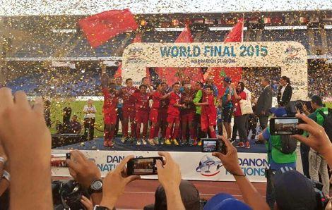 براعم المغرب أبطال للأمم