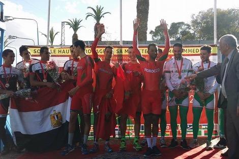 أربع ذهبيات للدراجة المغربية في افتتاح البطولة الإفريقية في الدار البيضاء