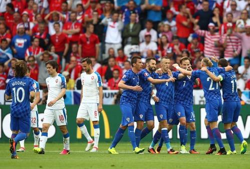 تعادل مثير بين كرواتيا والتشيك ضمن بطولة أوروبا للأمم 2016