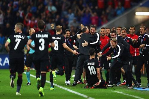 رأس ساديكو تطيح برومانيا وتحافظ على أمل ألبانيا بفوز تاريخي في يورو 2016