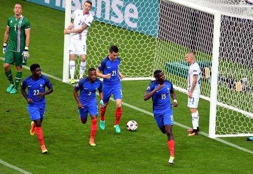 """""""ديوك فرنسا"""" تُنهي الحلم الأيسلندي بخماسية وتتأهل لنصف نهائي بطولة أوروبا"""