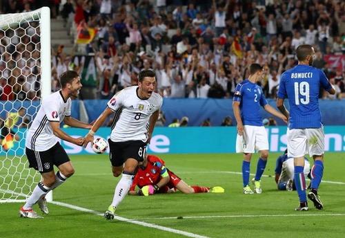 """ألمانيا تعيد منتخب """"الآتزوري"""" إلى الديار وتصعد لنصف نهائي """"أورو فرنسا"""""""