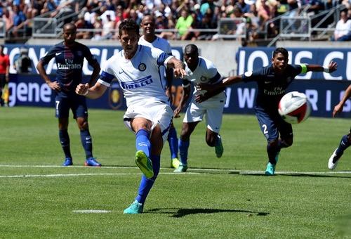 باريس سان جيرمان يكتفي بثلاثية في شباك إنتر بكأس الأبطال الدولية