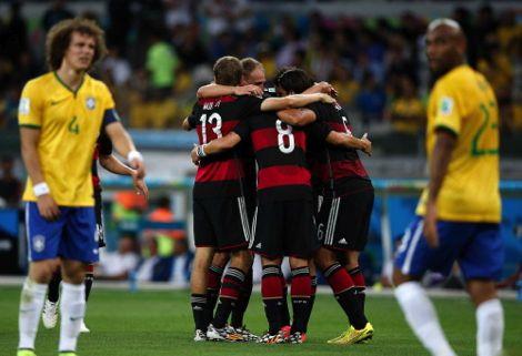 """اليوم ذكرى """"مجزرة السباعية"""" الألمانية في مرمى البرازيل بمونديال 2014"""