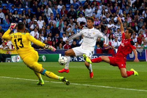 رونالدو أول مدريدي يسجل هدفين في نهائي أوروبي منذ 28 عامًا