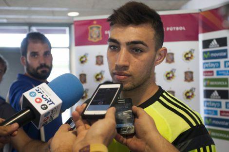 الحدادي: حلمي تحقق أخيرا باللعب للمنتخب الإسباني