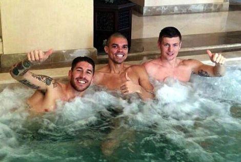 نجوم ريال مدريد يعبرون عن سعادتهم بالإقامة في مراكش الساحرة