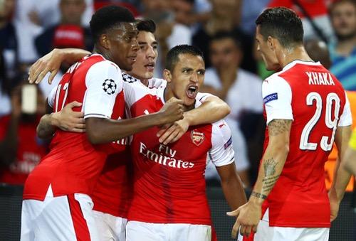 أرسنال الانجليزي يفلت من كمين سان جيرمان الفرنسي في دوري الأبطال