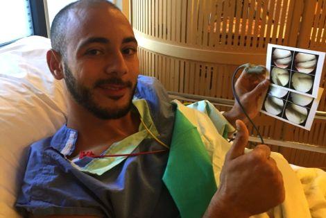 امرابط يستغل فترة الإصابة لقضاء عطلة عائلية بهولندا