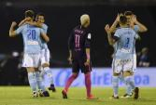 """سيلتا فيغو يجعل من ملعب """"لوس بالايدوس"""" مقبرة لبرشلونة بعد هزمه برباعية"""
