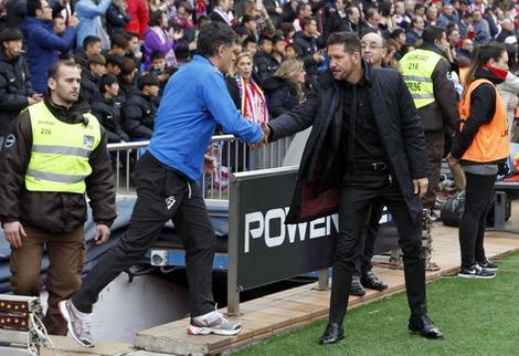 سيميوني يحقق انتصاره المائة مع أتلتيكو مدريد بالليغا