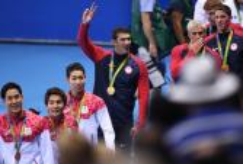 """وداع ذهبي للأسطورة فيلبس في أولمبياد """"ريو"""".. وأمريكا تحقق الميدالية رقم 1000"""
