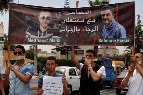 سلمان وياسر يصلان المغرب بعد الافراج عنهما