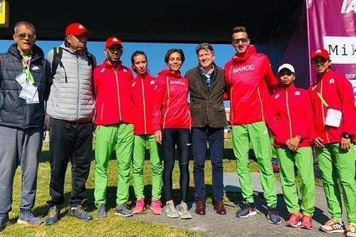 الفريق المغربي المختلط يحرز فضية بطولة العالم للعدو الريفي بالدنمارك