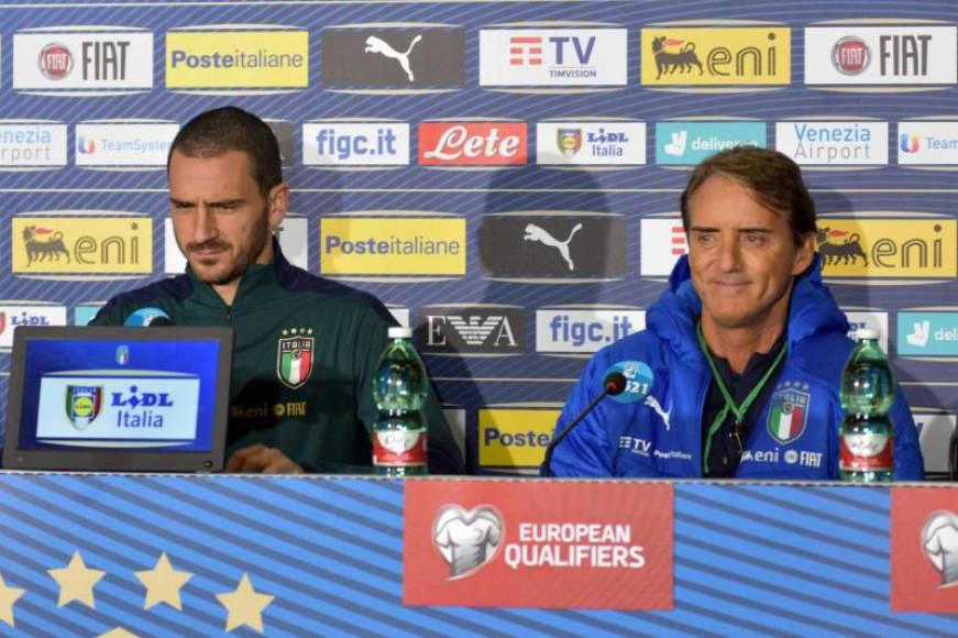 """بونوتشي يرى أن إيطاليا تأتي """"خلف"""" إسبانيا وفرنسا وألمانيا"""
