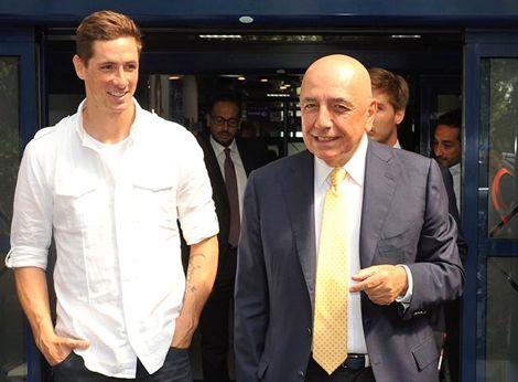 ميلان وفر 37 مليون يورو في صفقة توريس