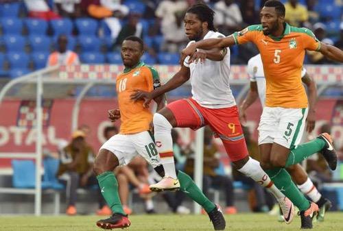 التعادل يخيم على مباراة الكونغو وكوت ديفوار في بطولة أمم أفريقيا