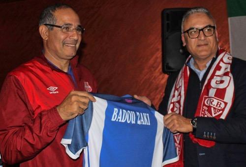 رسميا: اتحاد طنجة يعلن تعيين بادو الزاكي مدربا جديدا للفريق لموسمين
