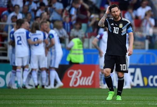 أيسلندا تحبط الأرجنتين بتعادل مستحق في افتتاح مشوارهما في المونديال