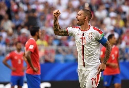 كولاروف يقود المنتخب الصربي للفوز على كوستاريكا في المونديال الروسي