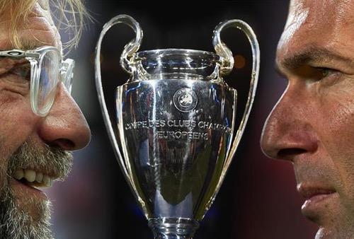 مدربا الريال وليفربول واثقان من نفسيهما قبل المباراة النهائية لدوري أبطال أوروبا