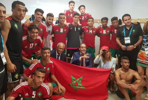 """مُنتخب U20 يفوز على """"ثوار ليبيا"""" بهدفين ضمن ألعاب البحر الأبيض المتوسط"""
