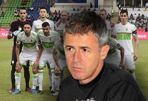 الاتحاد الجزائري يفسخ عقد مدرّب المنتخب بعد أن طلبت جهات عليا التخلص منه