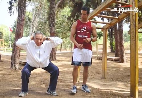 تمارين رياضية لكبار السن
