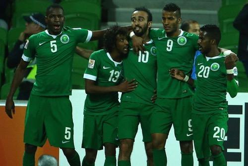 المنتخب السعودي يفوز على اليابان ويتأهل لمونديال روسيا