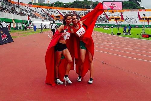الألعاب الفرنكفونية الثامنة: المغربية سيدي مدان فدوى تحرز ذهبية سباق 3000 متر موانع