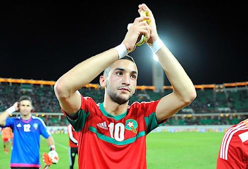 """زياش: مستعد للعودة إلى المنتخب لأن """"دم وطني المغرب"""" يسري في عروقي"""