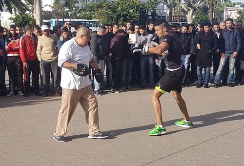 """ربيعي يلتئم بالشارع البيضاوي خلال أول حصة تدريبية قبل """"نزال البيضاء"""""""