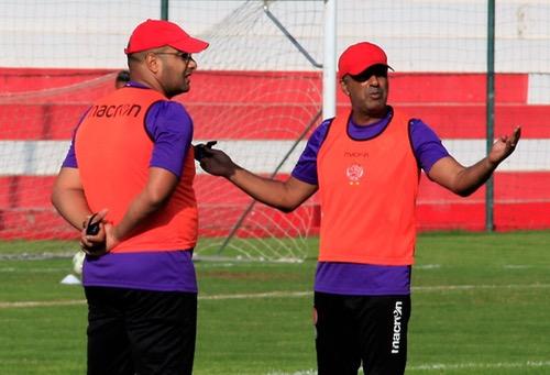 السكتيوي وأشامي يغادران الفريق رسميا واجتماع حاسم بين الناصيري ولاعبي الوداد