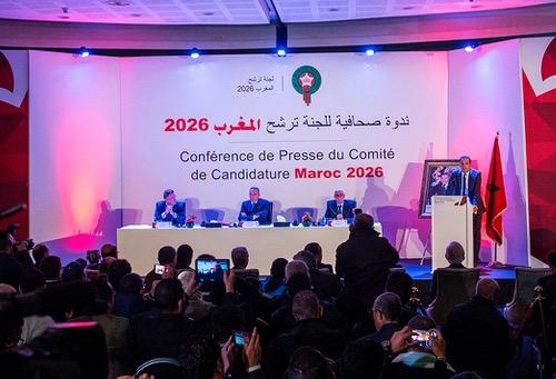 """لجنة ترشّح المغرب 2026 تُروّج لمِلف """"المونديال"""" في شُعّ """"العنكبوت"""" الأمريكي"""