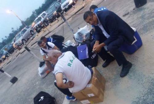 """إدارة الرجاء تَحتج على الاستِقبال النيجيري.. و""""الكاف"""" تتفاعَل بشكلٍ إيجَابي مع الحادِث"""