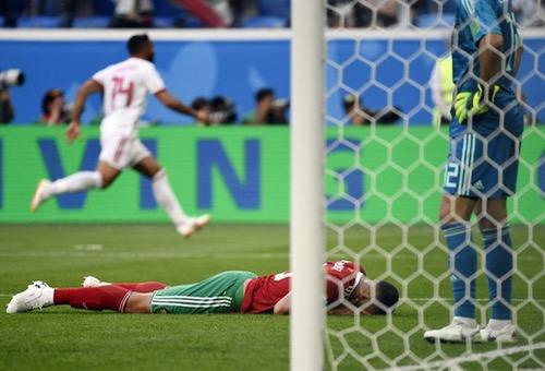 """""""النيران الصديقة"""" تهزم المنتخب المغربي ضد منتخب إيران بهدف قاتل سجله بوحدوز"""