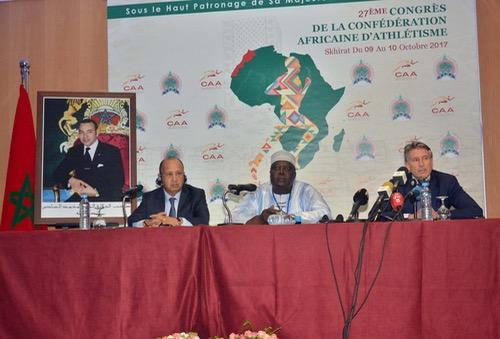 مؤتمر الكونفدرالية الإفريقية لألعاب القوى يصادق بالإجماع على أنظمته في ختام أشغاله بالصخيرات