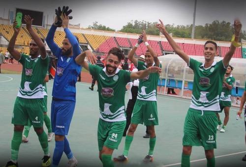 """الرجاء يفوز على """"إنييمبا"""" النيجيري في ذهاب نصف نهائي كأس """"الكاف"""""""