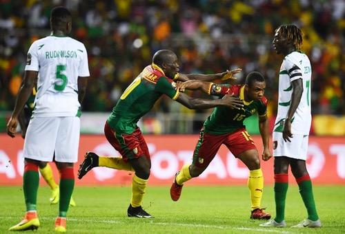 الكاميرون تفسد مفاجأة غينيا بيساو بثنائية وتتصدر المجموعة الأولى بأمم أفريقيا