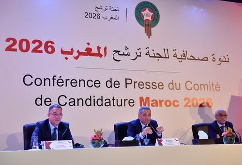 """المغرب يَبسط إستراتيجيته للظّفر بشَرف تنظيم """"مونديال"""" 2026.. والحكومة تنخرط في المشروع"""