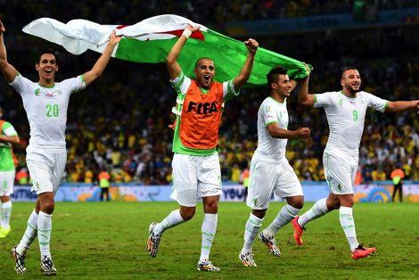 الجزائر ثالث منتخب عربي يبلغ الدور الثاني بعد المغرب والسعودية