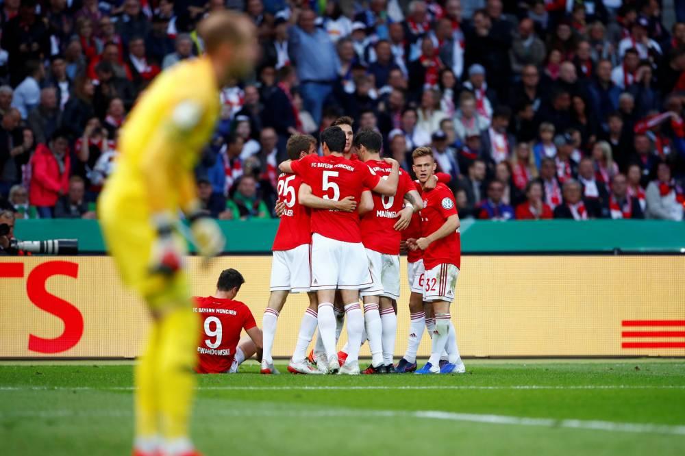 بايرن يهزم لايبزغ بثلاثية ويتوج بلقب كأس ألمانيا