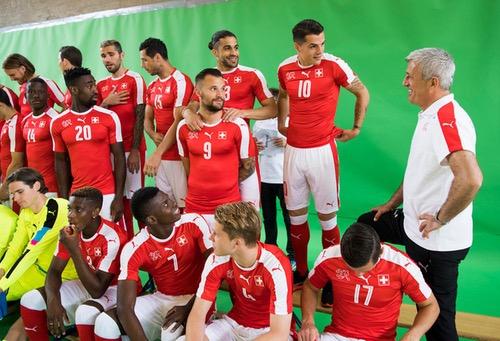 منتخب سويسرا المُشارك في اليورو: 12 دولة ممثلة في فريق واحـد