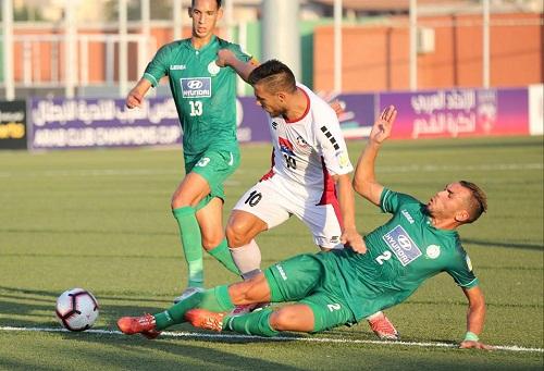 الرجاء الرياضي يقلب تأخره أمام زغراتا اللبناني إلى فوز في أولى مبارياته في البطولة العربية للأندية