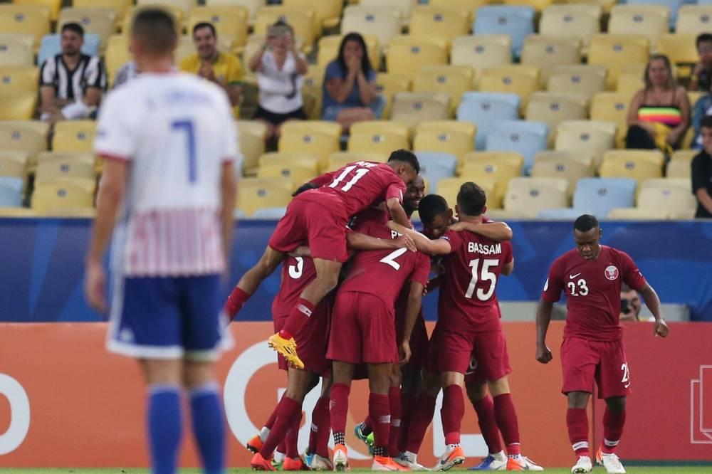 قطر تفاجىء الباراغواي وتنزع التعادل منها بالكوبا