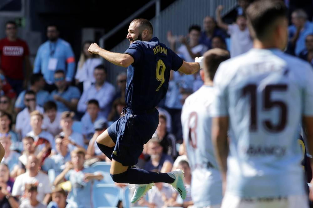 الريال بعشرة لاعبين يقسو على سلتا فيغو بثلاثية في الدوري الإسباني