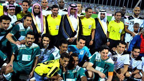 منتخب نجوم العالم المسلمين يهزم نجوم السعودية وديا